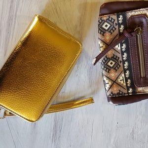 Handbags - Bundle wallets/wristlets